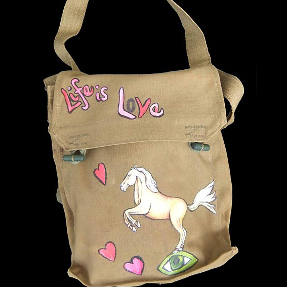 Fiona Whyte Hand Painted Bag