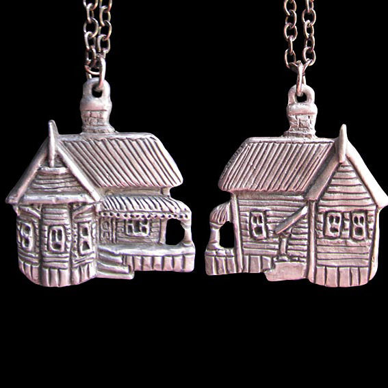 happy house pendant, New Zealand made and designed