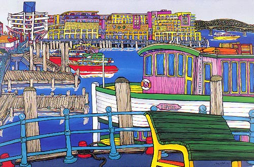 harbour by Fiona Whyte